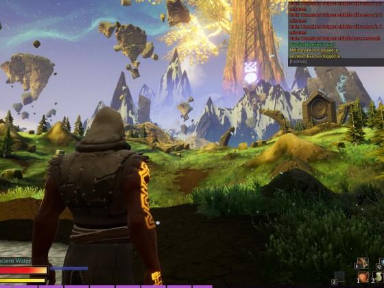 Yggdrasil, der Weltenbaum, zeigt den Fraktionsfortschritt