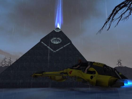 AO - Pyramid in Broken Shores