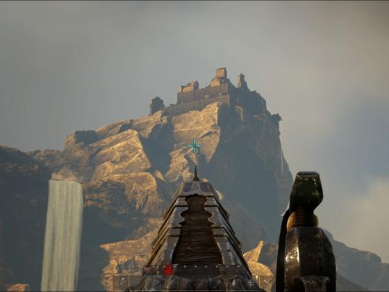 Eine PvE-Festung auf dem Gipfel