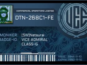 UEE Driver Licence